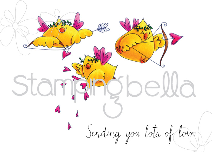 Stamping Bella - Cupid Chicks