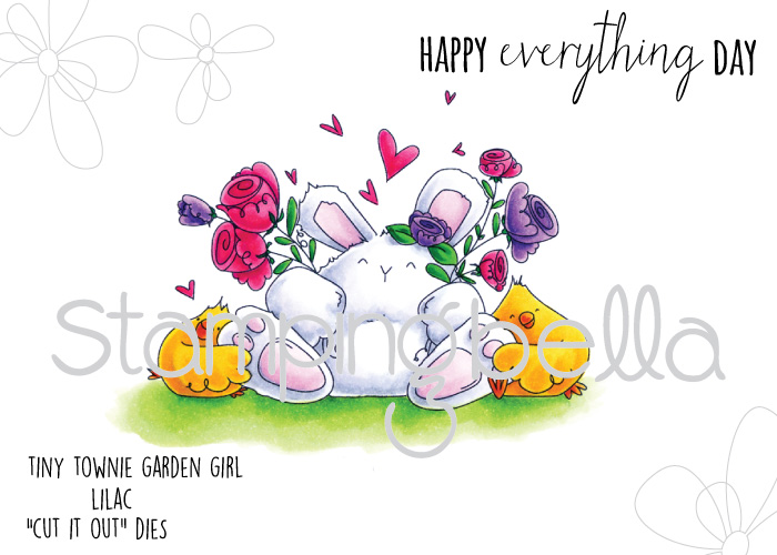 Stamping Bella - Happy Everything Bunny Wobble