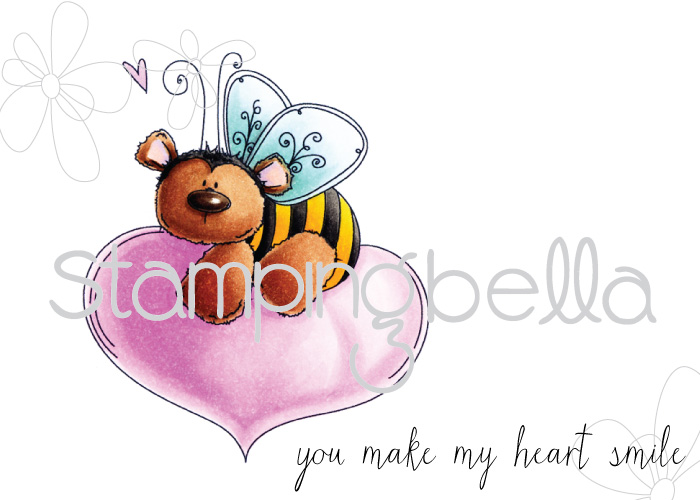 Stamping Bella - The Bee and the Heart