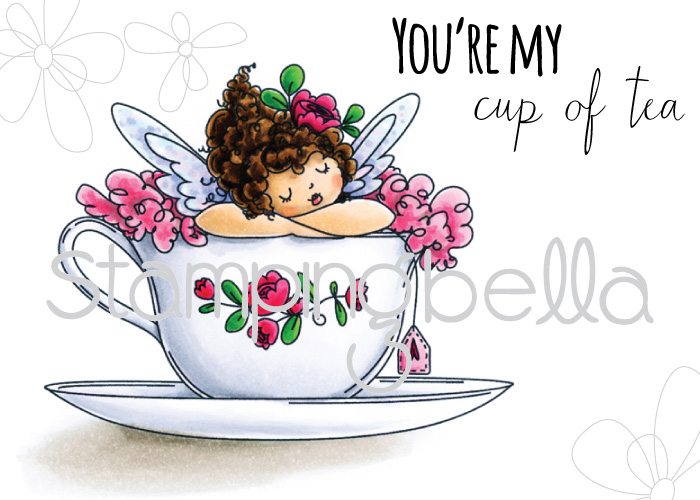Stamping Bella - Edna's Cup of Tea