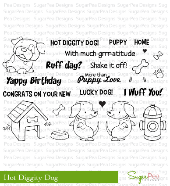 SugarPea Designs - Hot Diggity Dog Stamp Set