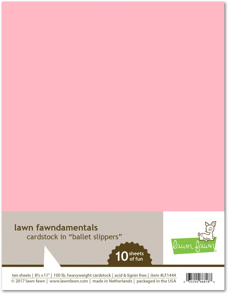 *NEW* - Lawn Fawn - ballet slippers cardstock