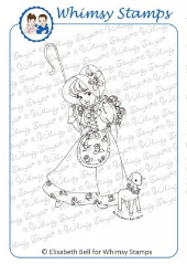 ** Whimsy Stamps - Little Miss Mary - Elisabeth Bell