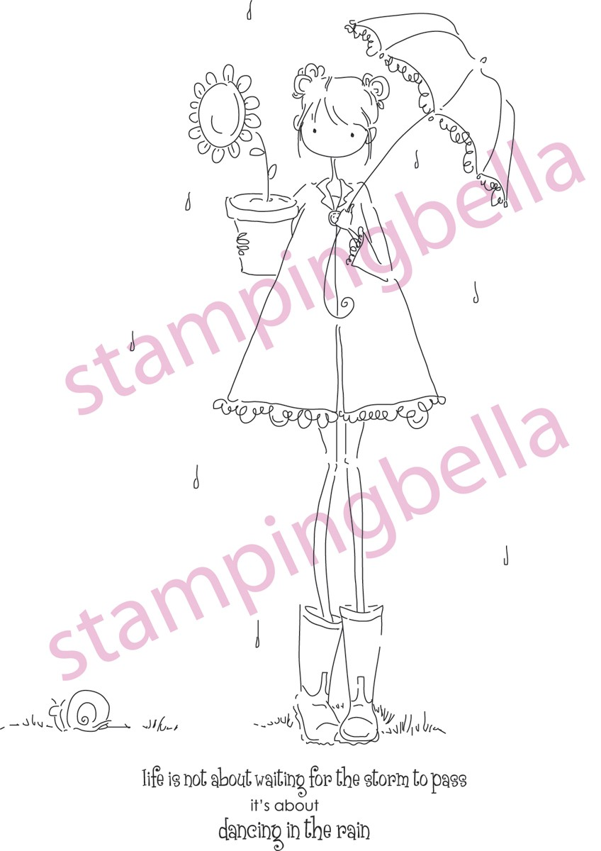 Stamping Bella - Lolly and her Brolly