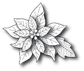 **XMAS* Poppystamps - Blooming Poinsettia