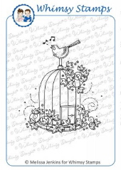 ###Whimsy Stamps - Victorian Birdcage - Meljen's Designs