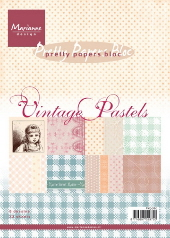 Pretty Papers Bloc - Vintage Pastels