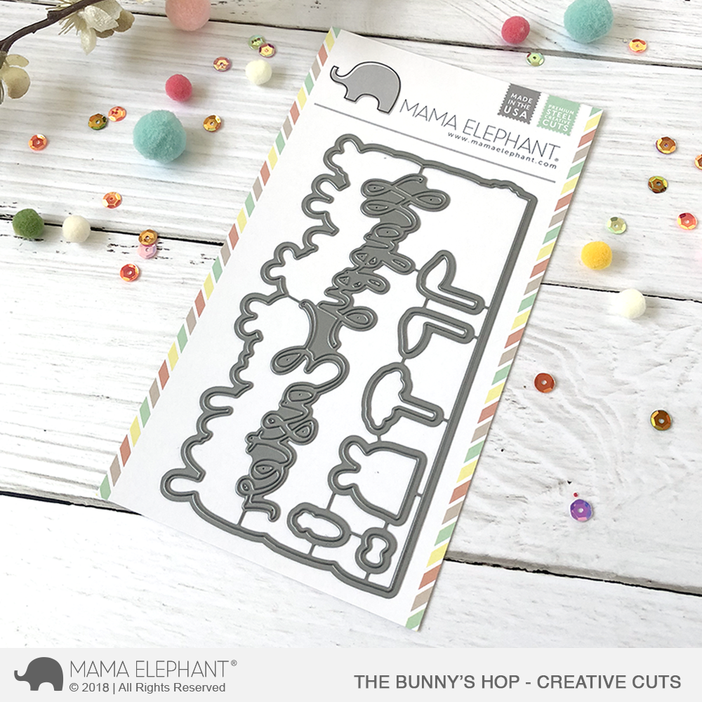 *NEW* - Mama Elephant - The Bunny's Hop - Creative Cuts