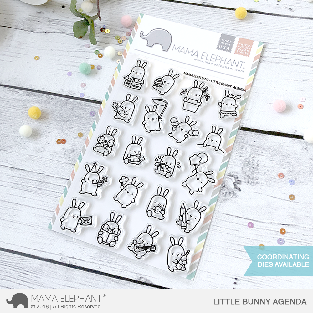 *NEW* - Mama Elephant - LITTLE BUNNY AGENDA
