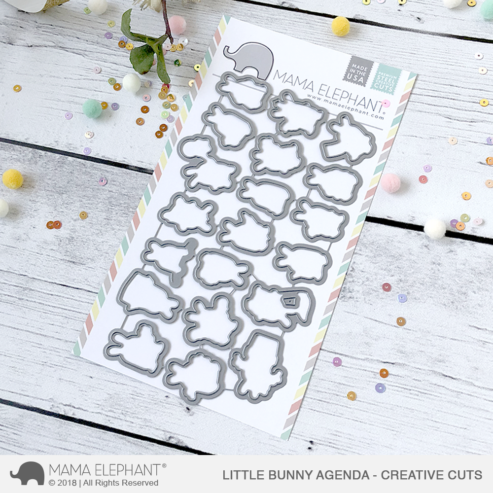 *NEW* - Mama Elephant - Little Bunny Agenda - Creative Cuts