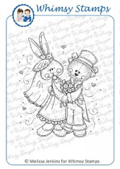 ** Whimsy Stamps - Hunny Bunny - Meljen's Designs