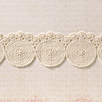 Large Natural Circles Trim