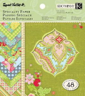 Sweet Nectar Specialty Paper Pad - 6 x 6