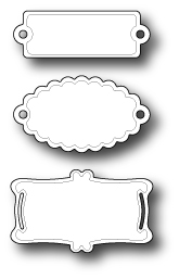 #Memory Box - Pastry Labels
