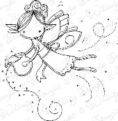 ###Whimsy Stamps - Pixie Dust Fairy - Meljen's Designs