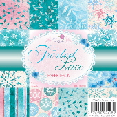 Frosted Lace Paper Pack