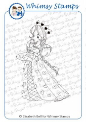 *SALE* Whimsy Stamps - Princess of Hearts - Elisabeth Bell