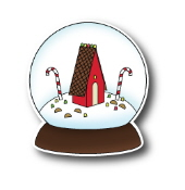 *XMAS* Poppystamps - Candy House