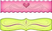 Piercerabilities - Ric Rac Scalloped Border