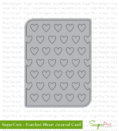 SugarPea Designs - Notched Heart Journal Card Die