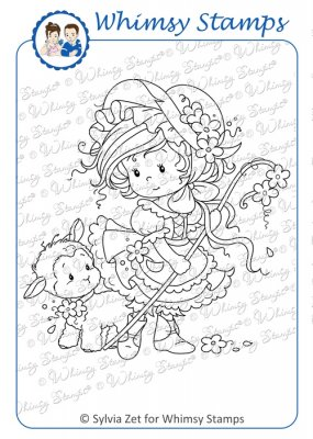 Whimsy Stamps - Wee Stamps - Mary - Wee Stamps