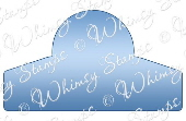 ###Whimsy Stamps - Tab 2 Die - Shapeology Dies