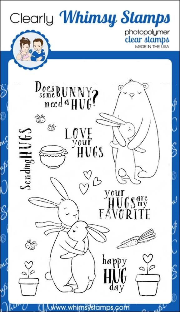 * Whimsy Stamps - Hugs Bunny